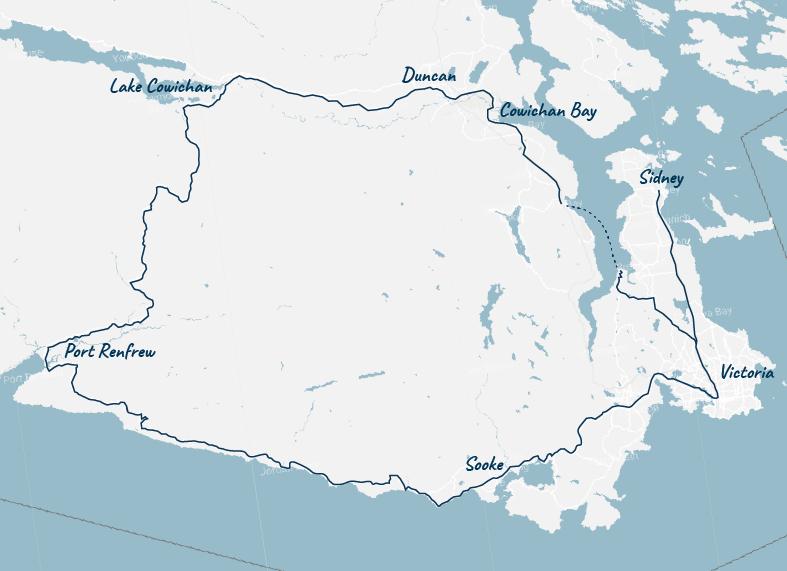 Pacific Marine Circle Route first leg